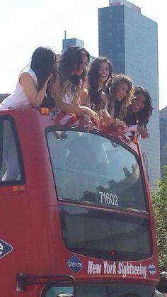 Fifth Harmony-Lauren Michelle Jauregui, Dinah Jane Hansen, Karla Camila Cabello, Allyson (Ally) Brooke Hernandez, and Normani Kordei Hamilton
