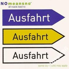NOMEANSNO - ALL ROADS LEAD TO AUSFAHRT  / MINT