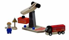 PlanToys Tower Crane Set *** See this great product.