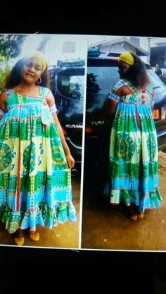 African Fashion Ankara, African Print Fashion, Africa Fashion, African Wear, African Attire, Elise Fashion, Blue Dresses For Women, African Traditional Wear, Ankara Dress Styles