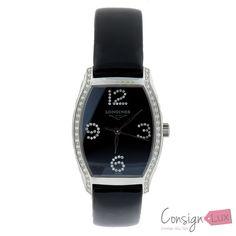 Ladies Longines Evidenza Quartz Watch with 104 = 0.44 ct VS1/VS2 round diamonds