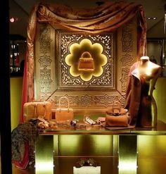 Hermes window displays, Paris ~ Jan 2012