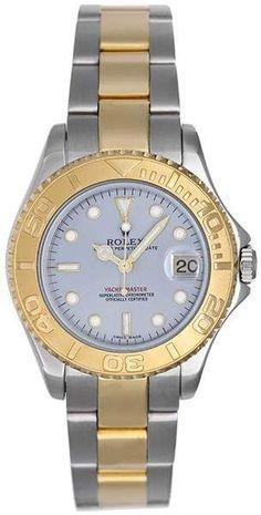 5007b71886b Rolex Yacht-Master 168623 2 Tone Steel   Gold 35mm Unisex Watch -  35mm