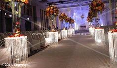 pillar aisle decor | ... SQ Plexi WEDDING AISLE DECORATION CRYSTAL PILLARS PEDESTALS COLUMNS