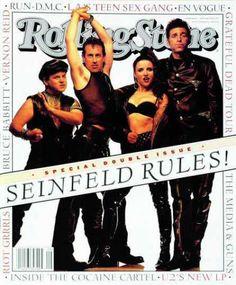 "Cast of ""Seinfeld"". Rolling Stone July 1993"