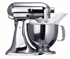 Chrome Kitchen Aid- a girl can only dream
