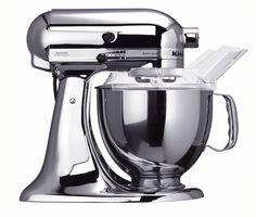 Kitchenaid Chrome: KitchenAid KSM152PSCR Custom Metallic Series 5-Quart Mixer, Chrome