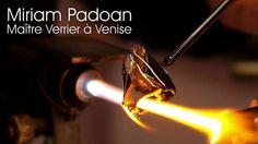 Miriam Padoan Maître Verrier à Venise Murano Glass