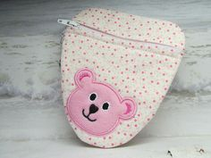 Pacifier Pouch Binky Bag with Lobster Clasp by WillowbendCottage, $6.00