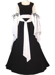 The dress Annabelle wore when Pellinore fought Tristan de Bois in Excalibur