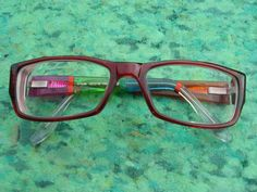 RONIT FURST INDIVIDUAL HAND PAINTED DESIGNER GLASSES FRAMES, 3784A  UK $14.99 used