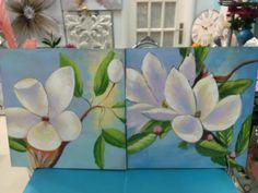 novedades en cuadros de flores en www.virginia-esber.es