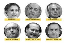 O Brasil vive sua pior crise política em décadas, com a presidente sob risco de impeachment e muitos membros do congresso respondendo a processos graves na justiça.