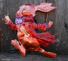Copper Hand Formed Alice In Wonderland by TheBlueCopperSmith, $21.95