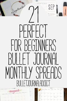 Bullet Journal Addict – 21 Easy Bullet Journal Monthly Spreads Bullet Journal Monthly Spreads For Beginners – Simple Bullet Journal Monthly Spreads – Minimalist Bullet Journal – 21 Perfect For Beginners Bullet Journal Monthly Spreads Bullet Journal Inspo, Bullet Journal Simple, Monthly Bullet Journal Layout, Bullet Journal Minimalist, Bullet Journal For Beginners, Bullet Journal Notebook, Bullet Journal Printables, Bullet Journal How To Start A, Bullet Journal Ideas Pages