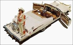 Nudie Cohn and his western Cadillacs