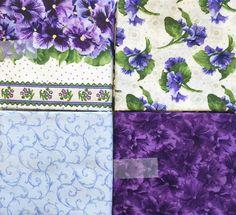 RJR Fabrics DEBBIE BEAVES Lovely Collection #1002 - 4 Yard Bundle #RJRFabrics