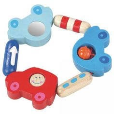 $12.50 Haba Toot-Toot Clutching Baby Toy