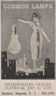Cosmos Lamps by VINTAGE AD, via Flickr