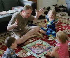 Tips for simplifying your Monopoly to make it accessible for kids of all ages - and a fun family game!