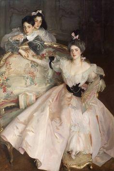 Mrs Carl Meyer and her Children (1896). John Singer Sargent (1856‑1925). Oil on canvas.