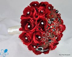 Red Sienna Rose Bouquet