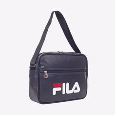 82f631f656a8 FILA Heritage Classic Horizontal Cross Bag Shoulder Messenger Black  FS3BCZ6358X  FILA  MessengerShoulderBag
