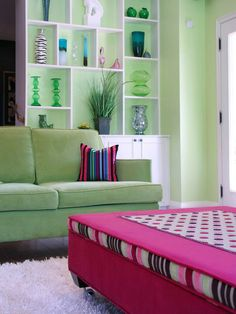 Pink and Green - 8 Classic Color Combos on HGTV