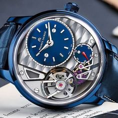 www.watches-news.com Maurice Lacroix - Masterpiece Gravity for Only Watch 2015  #Watch