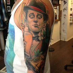 Tattoo by Håkan Hävermark Tattoo Sleeves, Sleeve Tattoos, Helsingborg, Portrait, Instagram, Headshot Photography, Portrait Paintings, Arm Tattoos, Arm Tattoo