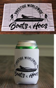 Prestige Worldwide Banner Flag Boats /& Hoes Step Brothers Catalina 3/' x 5/' New W