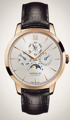 Mont Blanc Meisterstuck Heritage Perpetual Calendar #Mont Blanc #Watches #Relojes