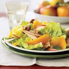 Apple-Cheddar Salad with Walnuts