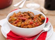 Quinoa and Roasted Pepper Chili Recipe