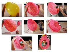 Easter Egg made with String