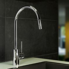 Picturesque Modern High End Elegant Designer Single Lever Kitchen Faucet  Sink Mixer With High Swivel