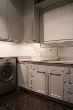Another nice clean laundry room.