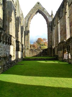 Ruins of Bolton Abbey, Yorkshire Dales, England