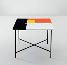 table | mathieu matégot | 1956. Such a pretty table! But i wouldn't know what to do with it if I do happen to own it!
