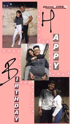 Happy Birthday Frame, Happy Birthday Quotes For Friends, Happy Birthday Posters, Birthday Posts, Birthday Frames, Love Birthday Quotes, Birthday Captions Instagram, Birthday Post Instagram, Creative Instagram Photo Ideas