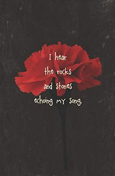 I Hear the Rocks and Stones Echoing My Song: Blank Journal and Musical Theater Gift Musical Theatre Quotes, Broadway Quotes, Broadway Theatre, Broadway Shows, Blank Journal, Theatre Nerds, Dear Evan Hansen, Me Me Me Song, Rocks