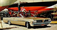 1961 Pontiac Bonneville Convertible - 'Dreamboats': Art Fitzpatrick and Van Kaufman