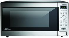 Panasonic ft 1250 Countertop Microwave (Stainless Steel) at Lowe's. The Panasonic Cu. Genius Sensor microwave oven with Inverter Technology is perfect for the countertop or built-in installation. Built In Microwave Oven, Countertop Microwave Oven, Stainless Steel, Small Appliances, Kitchen Appliances, Kitchens, Cooking Appliances, Kitchen Tools, Houses