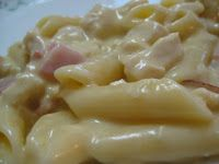 Mmmmm Chicken Cordon Bleu Pasta This may make its way to the McGuire Winter Bash!!