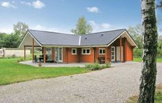 Holiday home F�lledvej Glesborg XI Glesborg Holiday home F?lledvej Glesborg XI offers a terrace and is situated in N?rager. The house can accommodate up to eight persons.  The private bathrooms comes with a shower and a toilet. At Holiday home F?lledvej Glesborg XI you will find a hot tub.