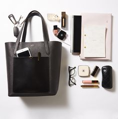 The Daily Edited Tote Bag - Black