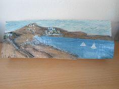 a greek island Wood Crafts, Greek, Island, Painting, Art, Art Background, Painting Art, Kunst, Wood Turning