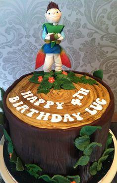 Tree Fu Tom Cake - by Flourpowerbynina @ CakesDecor.com - cake decorating website