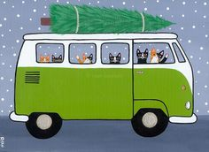 Volkswagen Christmas View Post by Ryan Connors