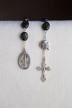 St Patrick One Decade Pocket Rosary, Catholic Rosary on Etsy, $11.00